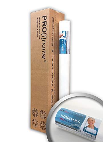 Renovlies Schildervlies 130 g Profhome HomeVlies 399-135 overschilderbaar glad wit renovatievlies voor wand en plafond | 4 rollen 100 m2