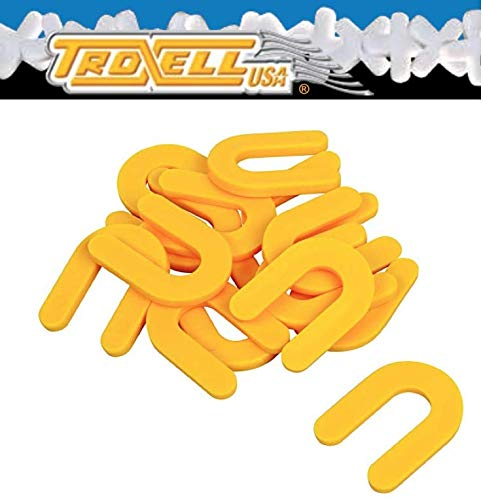 """Hollow Leave-In Spacers Troxell USA 3//16/"""" 500 pcs per box"""