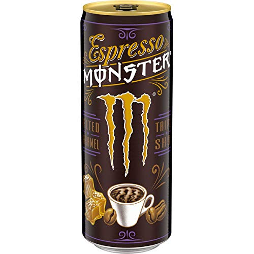 12 Dosen Espresso Monster Milk Triple Shot salted Caramel a 250ml pfandfrei
