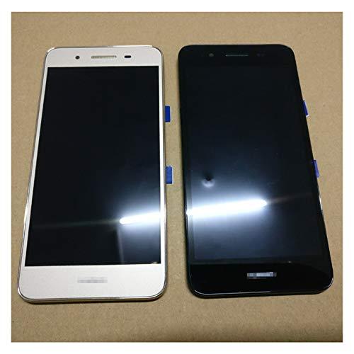 Pantalla LCD de repuesto para Huawei Enjoy 5S GR3 TAG-L01 TAG-L03 TAG-L13 TAG-L22 TAG-L21 Pantalla LCD + digitalizador de pantalla táctil + marco (color dorado con marco)
