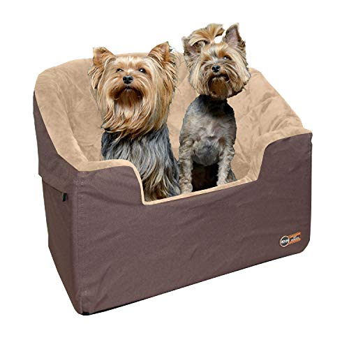 K&H Pet Products Bucket Booster Dog Car Seat Large Tan 14.5' x 24'