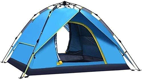 SAIYI Carpa montañismo, Doble Impermeable Mochila, Conveniente for Acampar al Aire Libre de Viaje, 200 * 150 * 130 cm automática Tienda de campaña