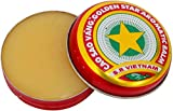 Cao Sao Vang 3 X New Golden Star Balm Vietnam 3g Each/9g Total