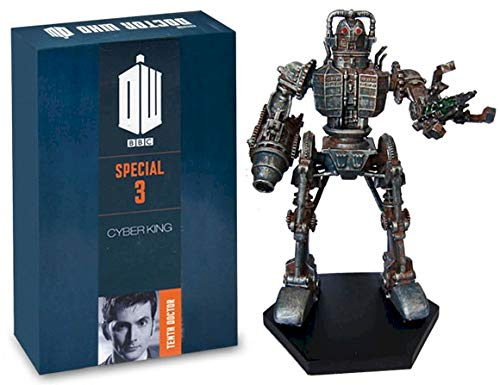 Official Licensed Merchandise Doctor Who Figur Collection CyberKing #SP3, handbemalt, Maßstab 1:21
