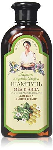 Grandma agafia's recipes - Grandma agafia recetas miel & linden champú para todo tipo de cabello 350ml