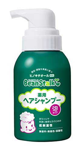 BeanStalk Medical Use Hair Shampoo Bubble Type 350ml [Health and Beauty]