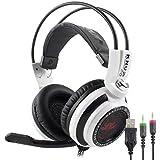 Headset Gamer Fone com Microfone 7.1 Plug P2/P3 – Knup Kp-400