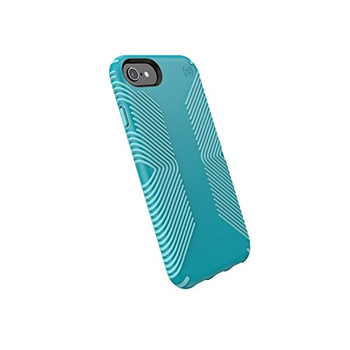 Speck Presidio Grip iPhone SE 2020 Hülle/iPhone 8/iPhone 7/iPhone 6S Hülle, Bali Blue/Skyline Blue (132086-8528)