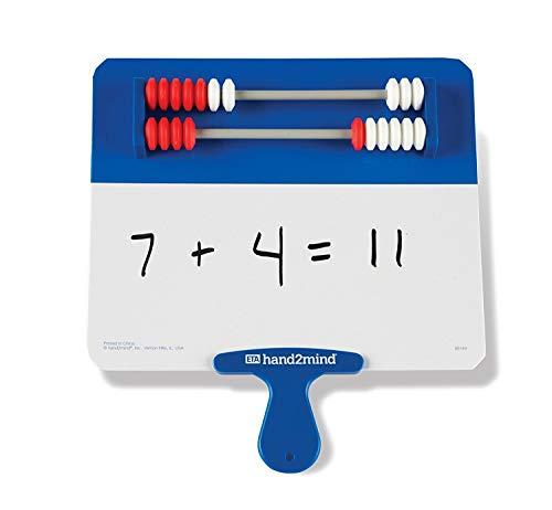 Hand2Mind Rekenrek Dry Erase Answer Paddle Whiteboard