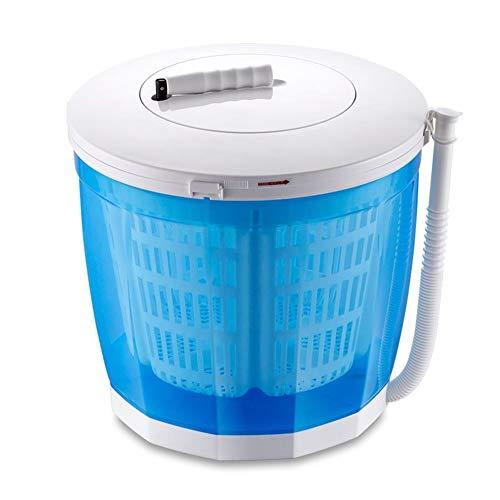 qwertyu Eco Washer 12L Tragbare Handwaschmaschine Handkurbel Dual Waschzyklen Kompaktes Design