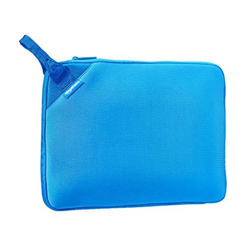 AmazonBasics - Funda para ordenador portátil estilo ejecutivo (con asa) de 39,62 cm, azul