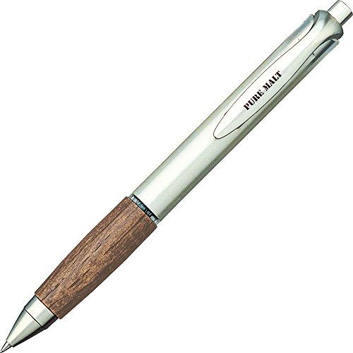 三菱鉛筆ゲルボールペンピュアモルト0.5UMN515.22ダークブラウン