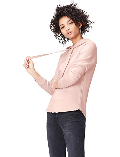 Marca Amazon - find. Sudadera con Trabillas para Mujer, Rosa (Blush), 48, Label: 3XL