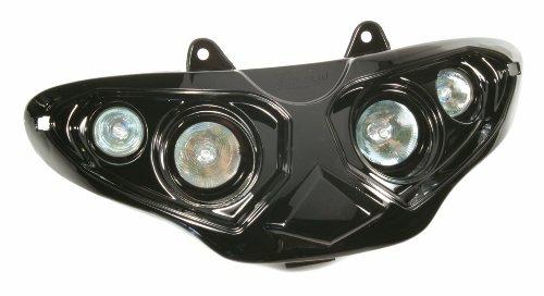 Quattrooptik schwarz, für GILERA Runner Halogenscheinwerfer