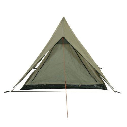 10T Outdoor Equipment Poneto, 762128 - Tenda da Trekking per 2 Persone, Colore Grigio