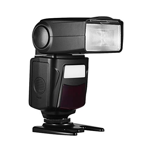 Docooler Camera Flash Speedlite Flash with Hot Shoe Mount Light Stand for DSLR Cameras