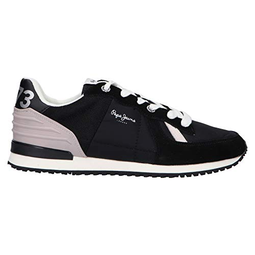 PEPE JEANS - Zapatos PEPE JEANS PMS30621 Caballero Black - 43