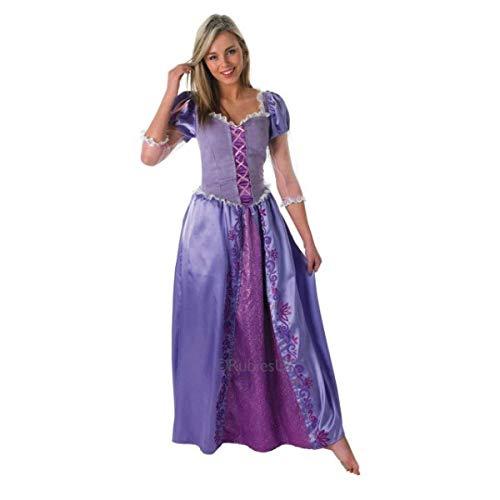 Rubie's - Déguisement Officiel - Disney - Disney Princesse - Déguisement Raiponce - Taille L adulte - CS987193/L