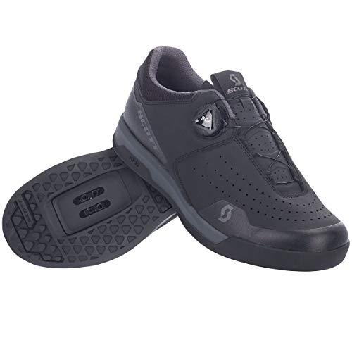 Scott Sport Volt Clip Dirt MTB Fahrrad Schuhe schwarz/grau 2021: Größe: 45