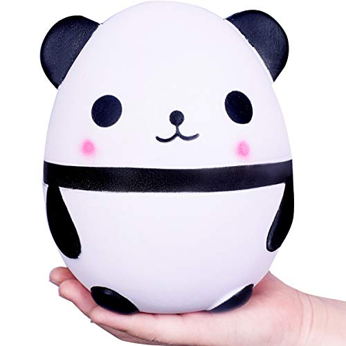 WeYingLe Squishy Jumbo Slow Rising Panda Cream Scented Kawaii Squishies Toys for Kids and Adults, Lovely Stress Relief Toy. Big Size Panda (6 inch Panda)
