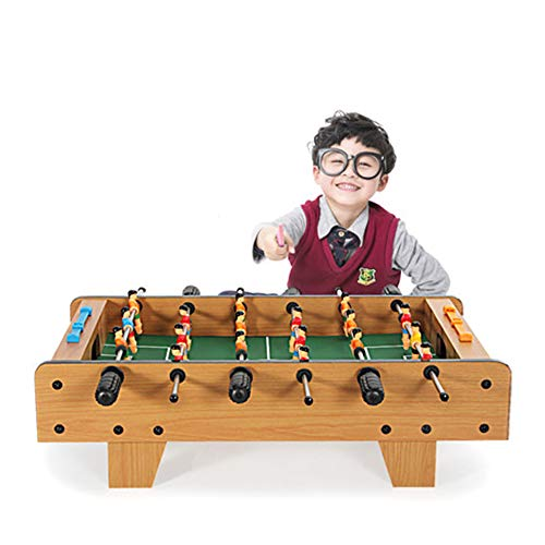 26' Portable Foosball Table, Wooden Soccer Game Table, Easy to Assemble and Disassemble, Sturdy Structure, Great Stress Relief Tool - for Game Rooms, Arcades, Bars
