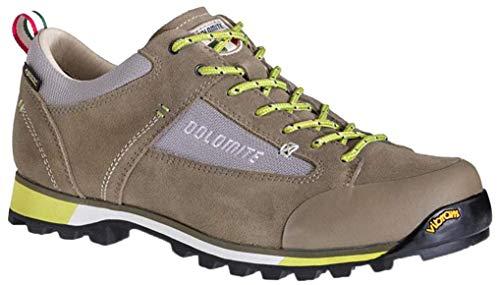 Dolomite Unisex-Erwachsene Zapato Ms Cinquantaquattro Hike Low GTX Schuhe, Mud/Green, 44.5 EU