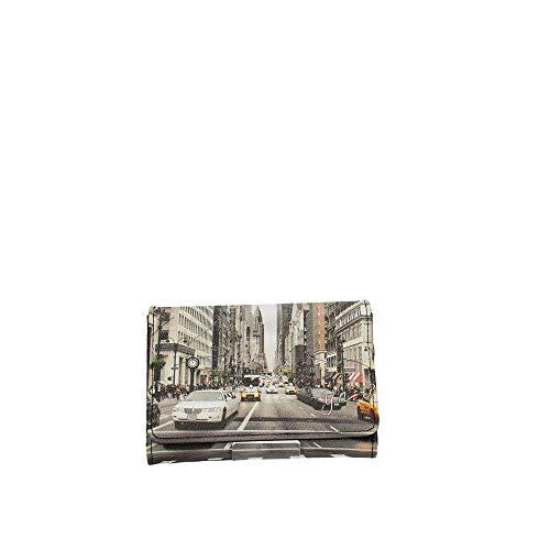 YNOT YES-346F0 PORTAFOGLIO Donna STAMPA NEW YORK TU