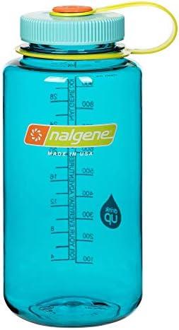 Nalgene Wide Mouth Bottle, 32 oz, Cerulean