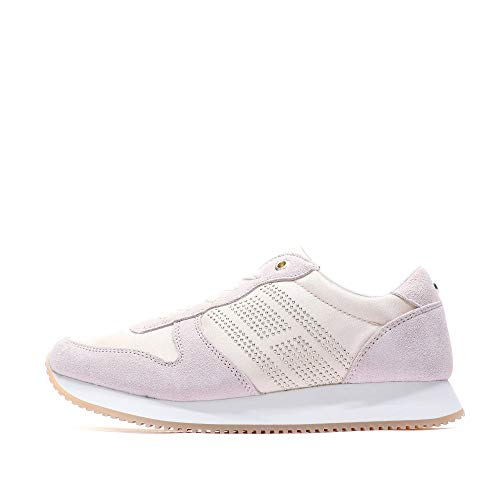 Tommy Hilfiger Sequins Retro Runner Damen Sneaker Pink