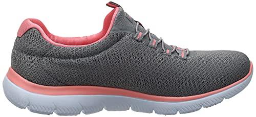 Skechers Damen Summits Sneaker, Grau - 9