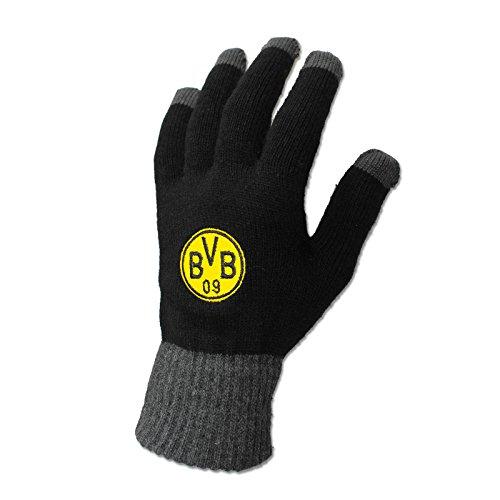Borussia Dortmund, BVB-Smartphone-Handschuhe, Schwarz, S