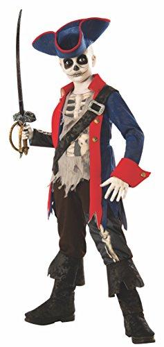 Rubie's Captain Bones Child's Costume, Medium