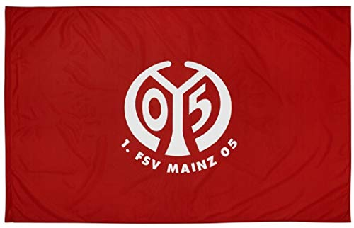 1. FSV Mainz 05 Fahne Logo groß