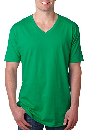 Next Level Mens Premium Fitted Short-Sleeve (N3200) Kelly Green l