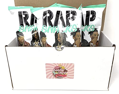 Rap Snacks 2.75 oz Potato Chip Bags (Pack of 3) (Migos - Sour Cream and Ranch)