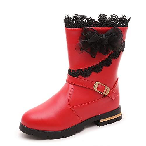 NSJY.FLY Kinder Mode Stiefel Winter samt warme Schnee Stiefel mädchen schöne Prinzessin Stiefel Kinder Casual Stiefel