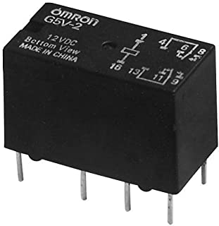 Omron Electronic Components Relay, Signal, Dpdt, 1A, 125Vac, Th - G5V-2-H1 DC9
