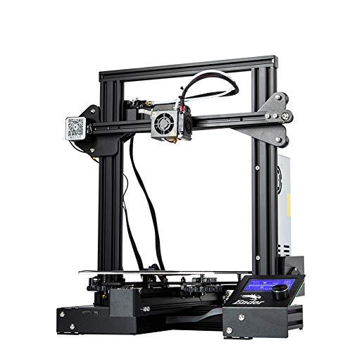 HZYYZH Imprimante 3D, Plateforme d'impression Bricolage créatif, Taille d'impression 220 * 220 * 250 mm, Fonction Continue Hors Tension, matériau en métal