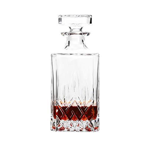 Yuansr Dispensador con un tapón geométrico Cerrado, un dispensador de Whisky para Vino, Bourbon, Brandy, Licor, Jugo, Agua, Enjuague bucal (Size : Style 6)