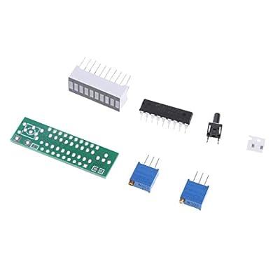 LM3914 10 LED Voltage Regulator DIY Kits Adjustable Converter Power Module Green