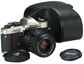 Nikon FM-10 35mm SLR Camera Kit with 35-70mm F3.5-4.8 Zoom Lens & Camera Case