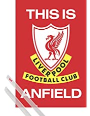 1art1 Fútbol - Liverpool FC This Is Anfield Póster (91 x 61cm)