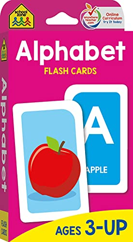 Alphabet Flash Cards. Preschool. Toddlers.
