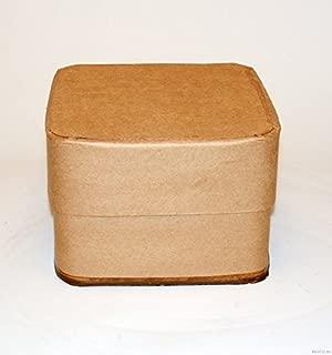 5 Gallon Square All-Fiber Corrugated Cardboard Drum with Corrugated Fiber Lid