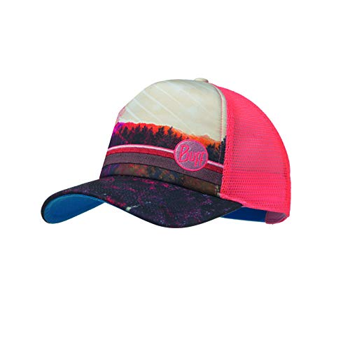 Buff S.A. Buff Damen Trucker Cap, Collage Multi, One Size