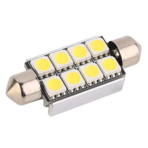 Naliovker 10 x 6 3528 SMD LED Festoon Lamp Festoon Interior Lighting 31 mm 12V White