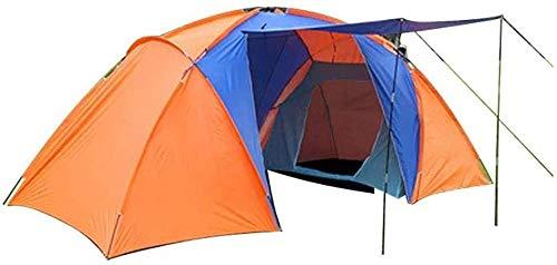 YAYY 3-5 Person Camping Dome Tent met Draagtas Lichtgewicht Waterdichte Draagbare Backpacking Tent voor Outdoor Camping/Wandelen (Upgrade)