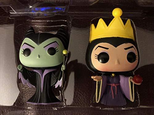 Funko POP! Disney: La bella durmiente: Maléfica + Blancanieves y los siete enanitos: La reina