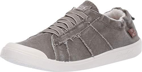Blowfish Malibu womens Vex Sneaker, Steel Grey, 7.5