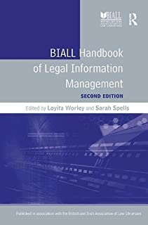 BIALL Handbook of Legal Information Management